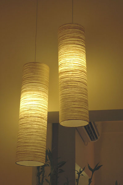 Cylindrical lamps